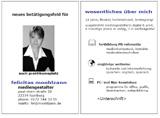 Die Profilcard - Kurzbewerbung in Druckform