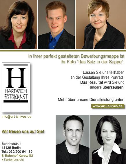 Fotograf für professionelle Bewerbungsfotos in Berlin Faceland