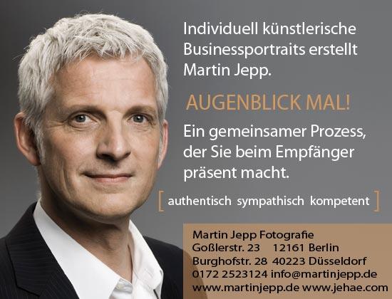 Fotograf für professionelle Bewerbungsfotos in Düsseldorf Martin Jepp Fotografie